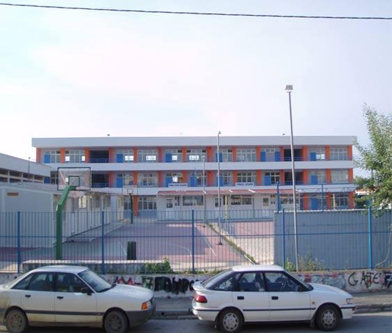 Εξωτερική θερμομόνωση σχολείου STO THERM CLASIC και δωμάτων