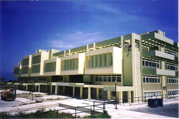 Βαφη κτιριων Βιβλιοθηκη Πανεπιστημιου Πατρων