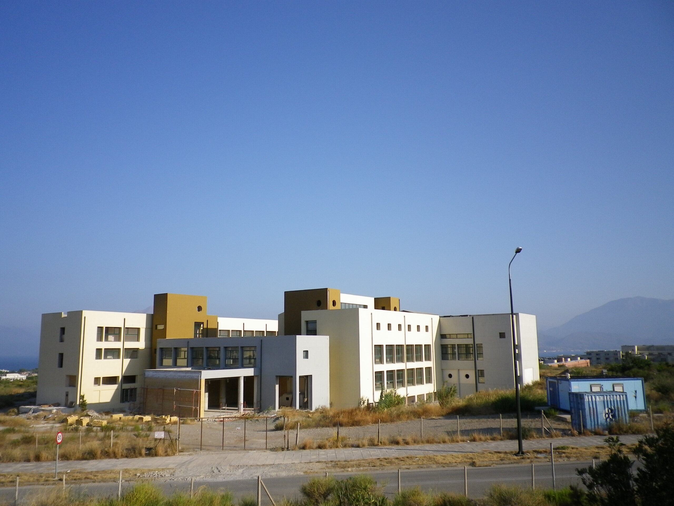 Βιομηχανικα Δαπεδα Πανεπιστημιο ΠΑτρων Κτιριο Μηχανικων Υπολογιστων